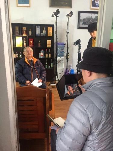 """《中国品牌档案》走进""""洞山酒业"""",正式开机拍摄!"""